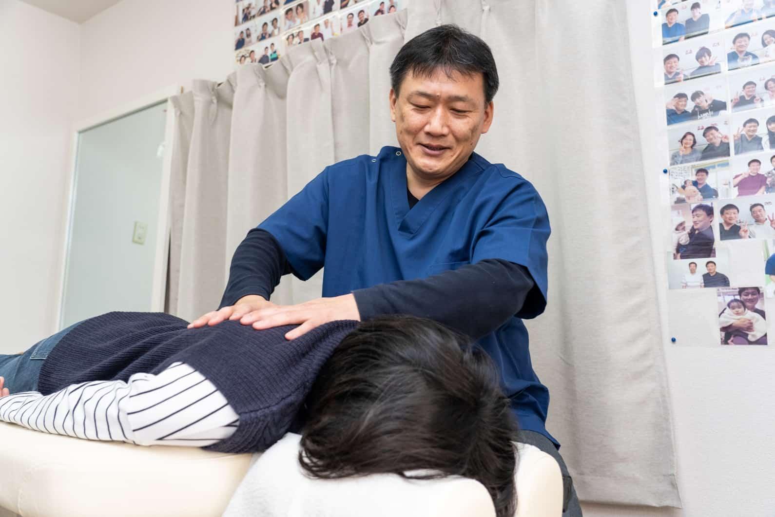 痛みのないやさしい整体であなたの症状を根本改善していきます