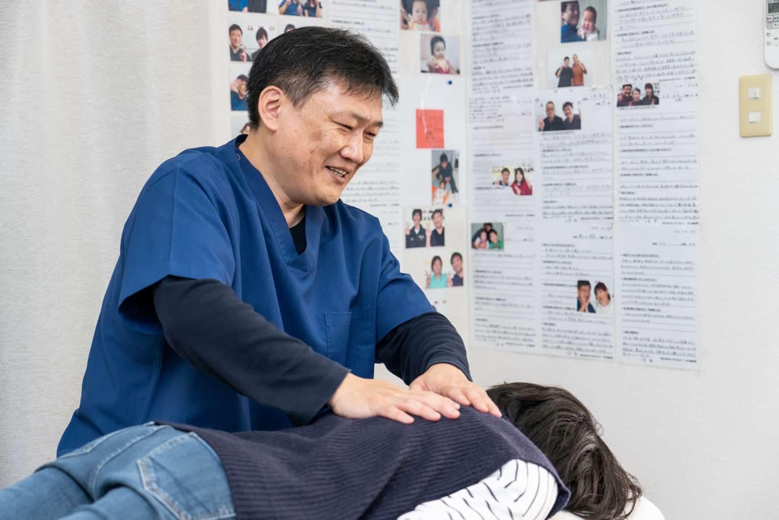 ひだか整体院の施術は痛みのない無痛のやさしい整体です