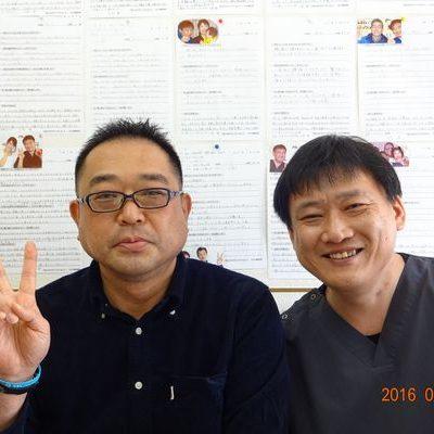 戸田市にお住いで長い間腰痛に悩んでいた千葉雅彦さま(事務職の43歳男性)