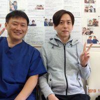 戸田市にお住いで慢性的な首のハリとコリに悩んでいたMIさま(事務職の40歳男性)