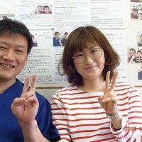 戸田市にお住いで長年の首こりや肩こりに悩んでいた小山智世さま(立ち仕事の35歳女性)