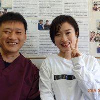 戸田市にお住いで出産後の腰痛と肩こりに悩んでいたYMさま(31歳の主婦)
