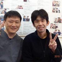 戸田市にお住いで腰痛や肩こりに悩んでいたHMさま(事務職の38歳男性)