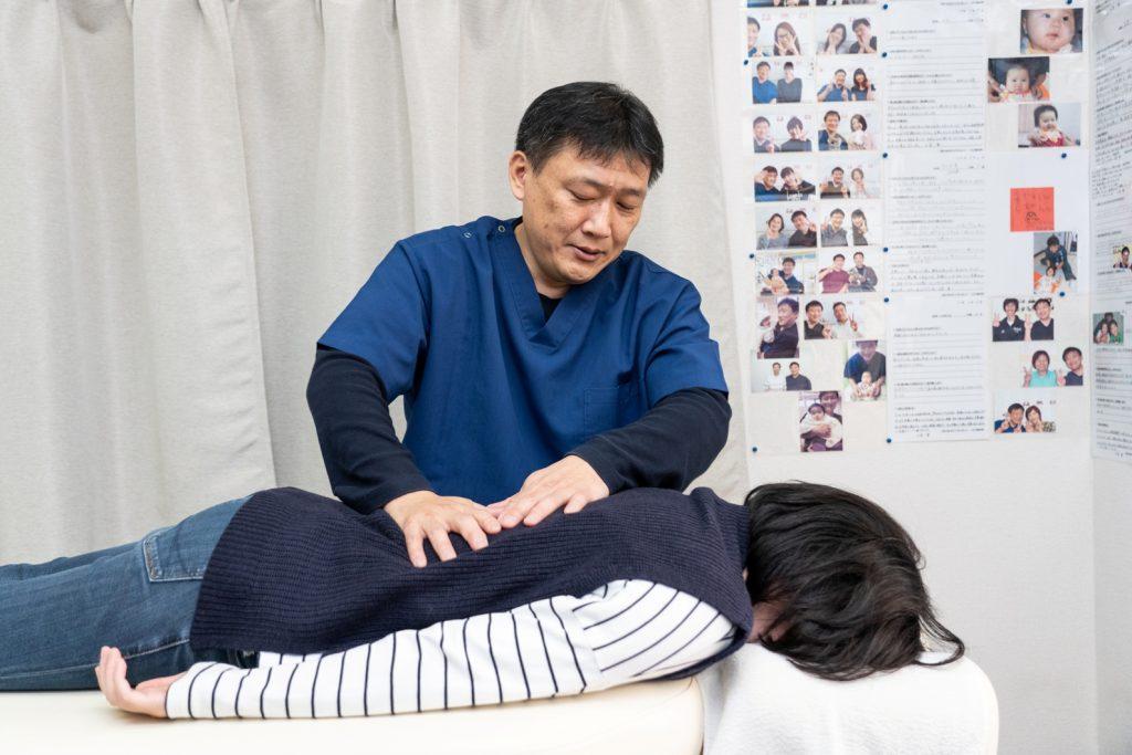 骨格の歪みを整える施術で腱鞘炎の症状を改善します