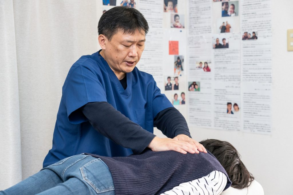 身体に負担をかけない優しい施術で骨盤の歪みを調整
